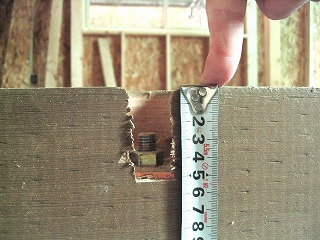新築一戸建て工事途中に起きていた実例