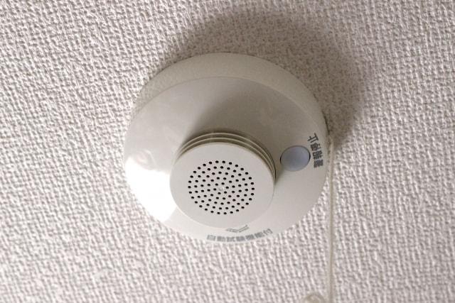 乾燥シーズン到来!火災報知器の設置場所は適切ですか?