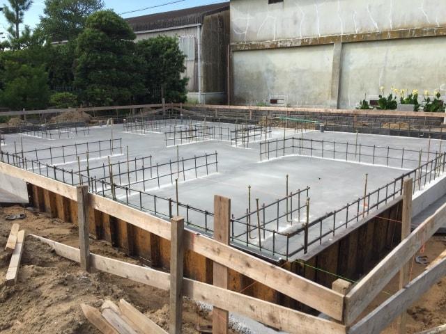 新築一戸建て工事中のチェックポイント ③ 配筋